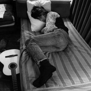 Jeff Beck Sleeping